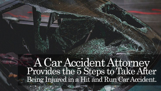 A Car Accident Attorney Provides the 5 Steps to Take After Being Injured