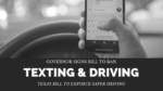 Texas Distracted Driving Bill Signed
