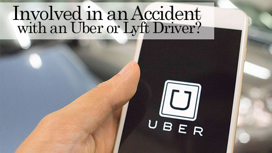 Involved in an Accident with an Uber or Lyft Driver