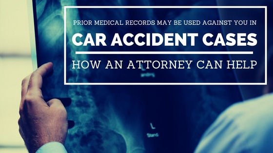 Medical Records Used in Car Accident Suit