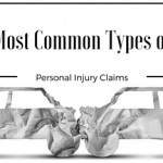 most common types of personal injury claims