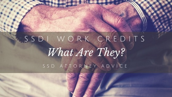 Ssdi Work Credits What Are They Attorney Kohm