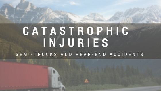 Truck Accident Rear-end Collision Injuries
