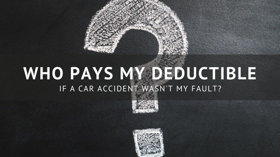 Who Pays the Deductible in a Car Accident