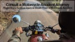 Consult a Motorcycle Attorney