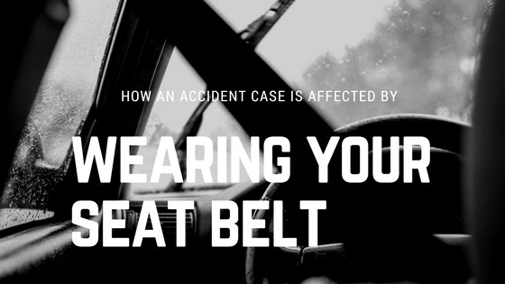 Wearing a seat belt can affect your car accident case